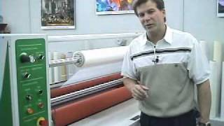 AGL 64i Laminator features Thickness Charts and Rear Controls