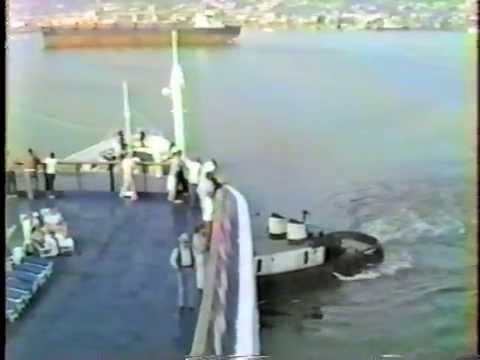 SS Azure Seas Sailing From San Diego January 1984