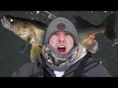 Mille Lacs Lake First Ice! (Big Fish)