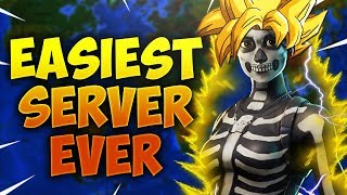 I Played Fortnite On Every Server And This Happened! (EASIEST SERVER EVER IN 2019)
