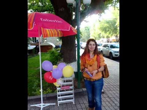 Faberlic Armenia Flash Mob In Yerevan