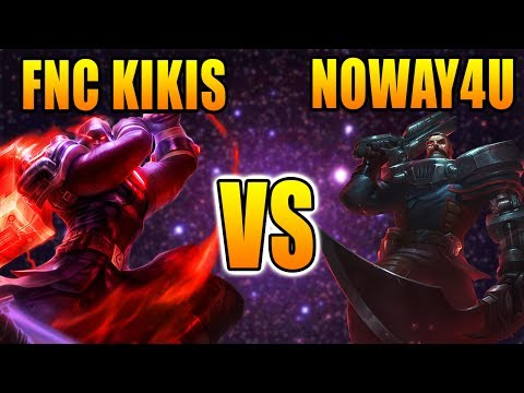 FNC Kikis vs Noway4u | Top Lane Jayce vs Gangplank | LOL Challenger Gameplay (Deutsch/German)