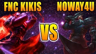 FNC Kikis vs Noway4u | Top Lane Jayce vs Gangplank | LOL Challenger Gameplay (Deutsch/German)