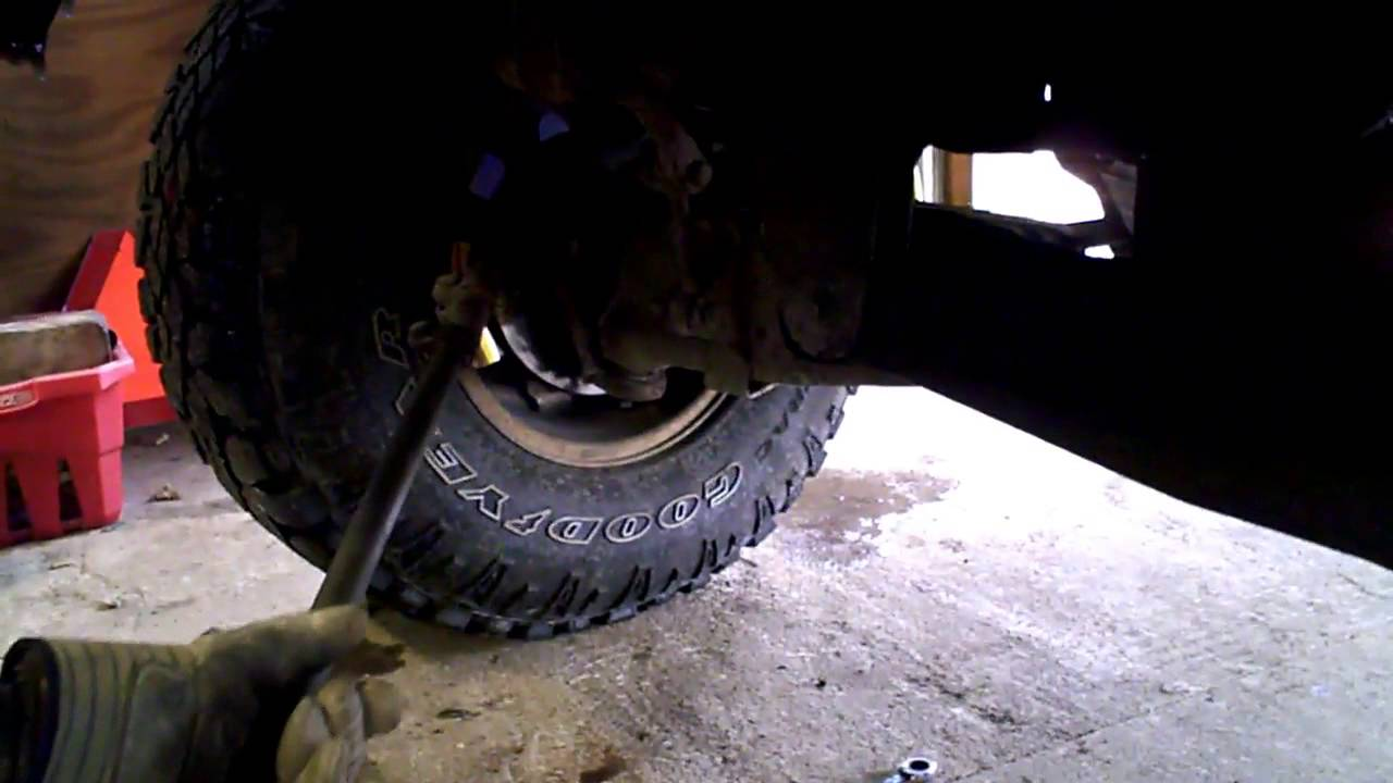 Ford ranger drag link replacement