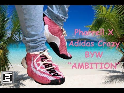 1a3739ba8ad36 Pharrell X Adidas Crazy BYW