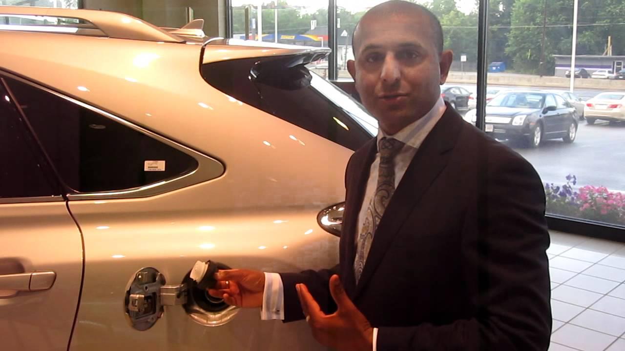 2011 Lexus RX 350 Fuel Tank - YouTube