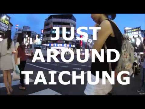 Walking Around Taichung Taiwan