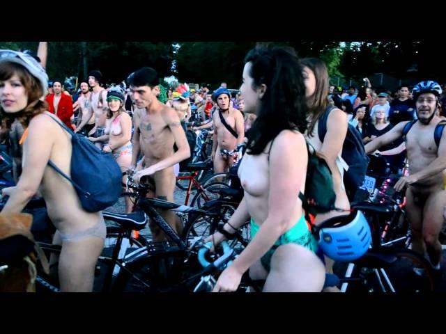Naked Bike Ride 2014 (NSFW)