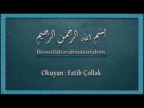 Fatih Çollak - 417.Sayfa - Ahzâb Suresi (1-6)