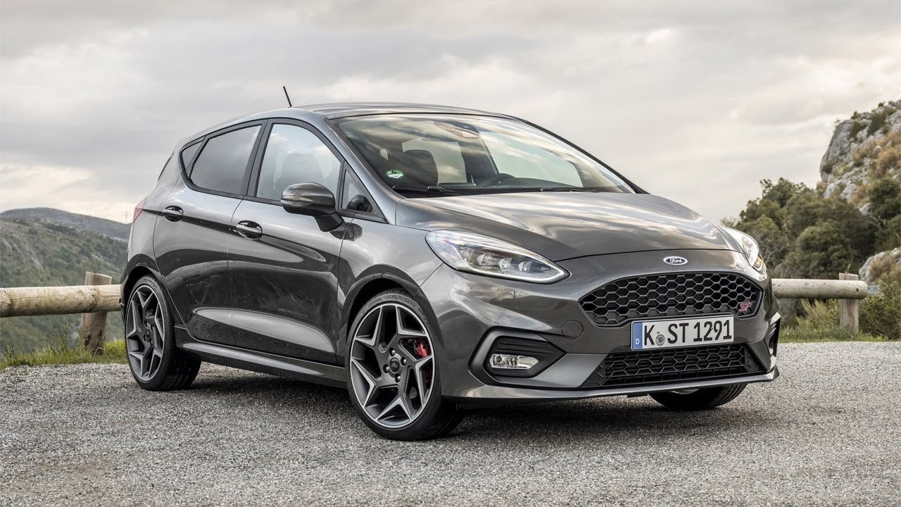 2018 Ford Fiesta St Magnetic Grey Youtube