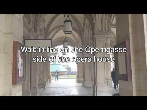 How to get Stehplatzkarten in Vienna