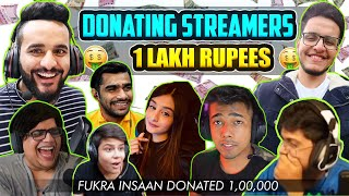 Donating RS 1,00,000 to STREAMERS for Random DARES !! * Surprise for YOU ALL*