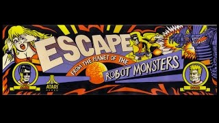 Escape from the Planet of the Robot Monsters (Arcade PC) Cinemassacre Plays
