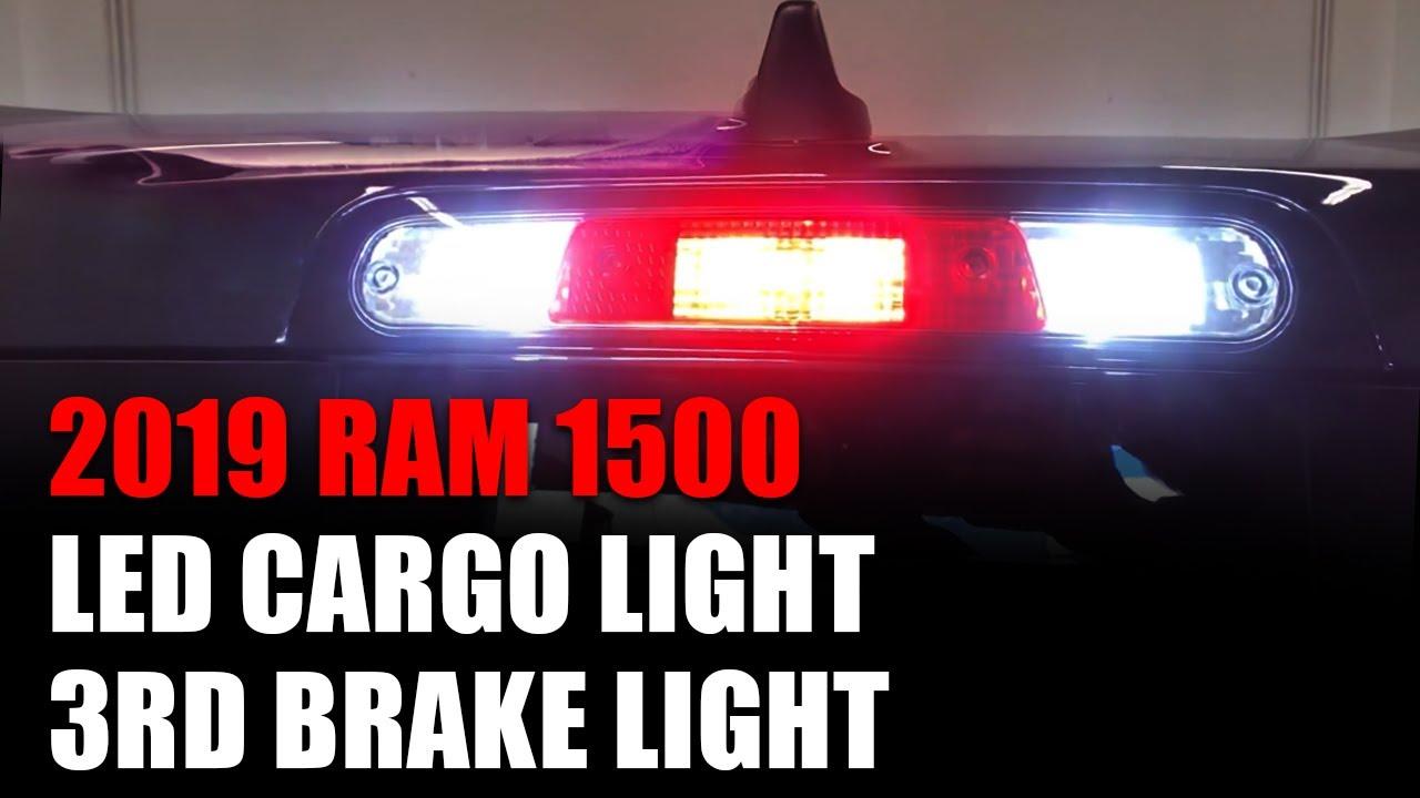 Perfect LED Replacement - 2019 Ram 1500 Cargo & Third Brake Light LED Bulb  Install