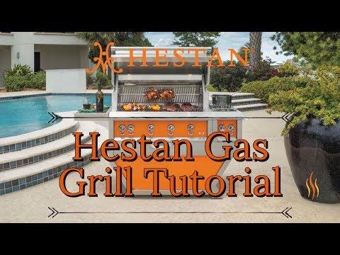 Hestan Gas Grill Tutorial