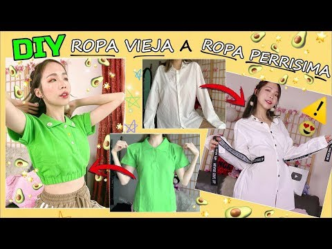 "4 DIY  ""ROPA VIEJA"" A ""ROPA DE MODA"" AESTHETIC - RETRO - Vintage / ANGA NG"