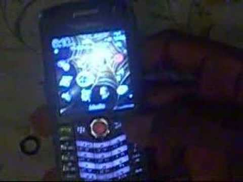 How to change the color of Blackberry 8120 trackball