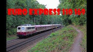 *Fluit* Euro Express 110 169 met Sonderzug in Venlo