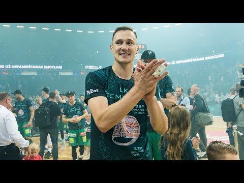 Paulius Jankūnas 2016-2017 season highlights 🥇🏀💚