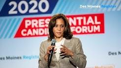 Full video: Kamala Harris speaks at the AARP/Des Moines Register forums (7/17)