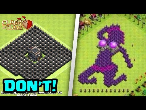 Top 6 WORST Base Design Mistakes In Clash of Clans