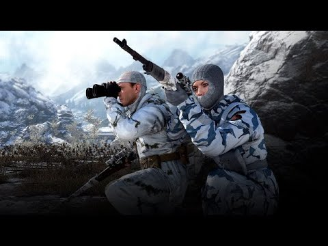 Sniper Elite 4 - New survival Map - Winter Market (xbox one) - winter character (DLC)