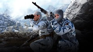 Sniper Elite 4: New survival Map - Winter Market (xbox one) - winter character (DLC)