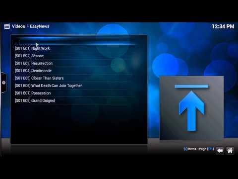Easynews XBMC Plugin Demo June 2014