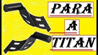 Facil! Intalação de Slider, Honda Titan OU Fan e Tambem Ybr.