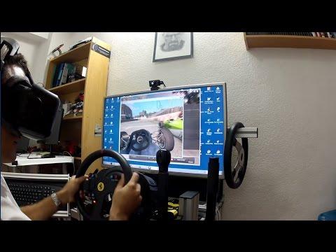 Simracingcoach - Simracing y Realidad Virtual (Oculus DK2, Bodyshakers y LFS)