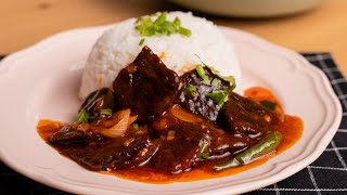 Daging Masak Merah Ala Thai อร่อยมากครับ Aroi Mak Khrab
