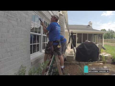North Georgia Replacement Window Installation Time Lapse