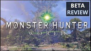 Monster Hunter World Beta Review