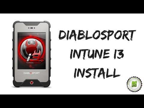 DiabloSport InTune i3 Install