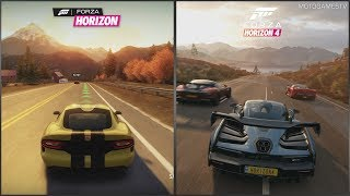 Forza Horizon vs Forza Horizon 4 - Early Gameplay Comparison (2012 vs 2018)