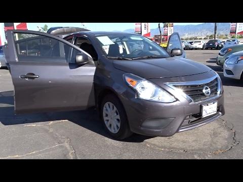 2015 Nissan Versa San Bernardino, Fontana, Riverside, Palm Springs, Inland Empire, CA 36080A