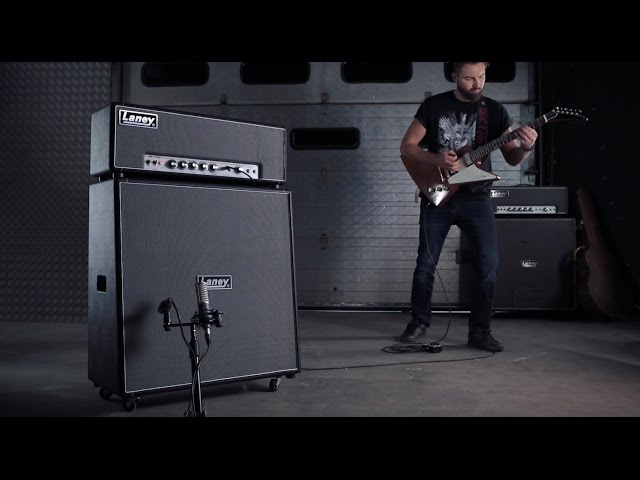 Introducing the limited edition Laney LA100BL, LA412 and Tony Iommi TI-BOOST pedal package