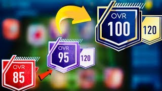Fastest Way to Upgrade to 100 OVR - how to upgrade to 95 OVR FOR FREE in fifa Mobile 19