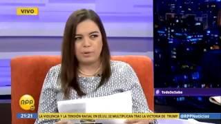 Entrevista a Ministra del Ambiente en Todo se sabe (RPP Tv)