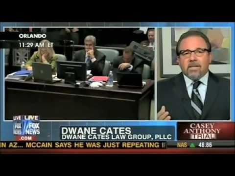 Dwane Cates commenting on the Casey Anthony Case.