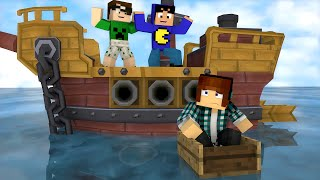 Minecraft: AUTHENTIC VS TAZERCRAFT - Minecraft Machinima