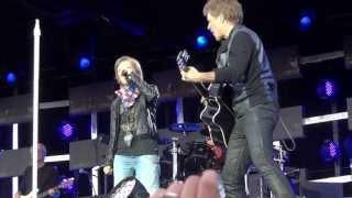 Wanted Dead or Alive - Bon Jovi with Marco (Stuttgart, Cannstatter Wasen, 21.06.2013)