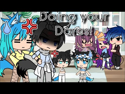 Doing Your Dares! Ll Part 1 Ll Gacha Life