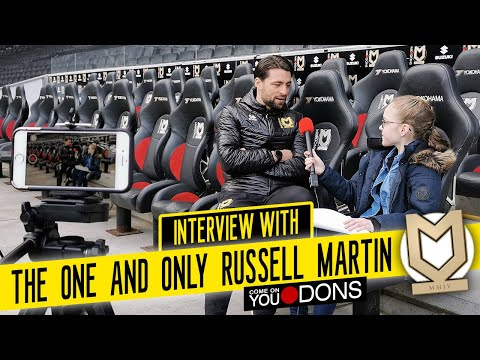 Interview With Russell Martin - MK Dons First-Team Manager