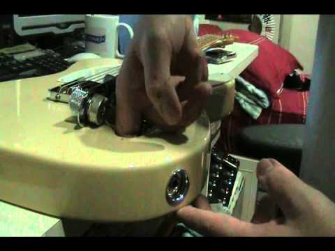 Tips: How to Tighten a Loose Telecaster Output Jack - YouTube