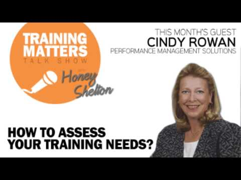 How To Assess Your Training Needs