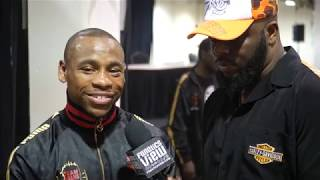 """Brandon Adams reacts to Jermall Charlo Loss: """"I KNEW I HAD TO KNOCK HIM OUT TO WIN"""""""