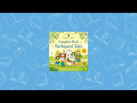 Complete Book Of Farmyard Tales With CD (CV) ~ Usborne Books & More