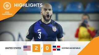 CFC 21: Estados Unidos vs República Dominicana