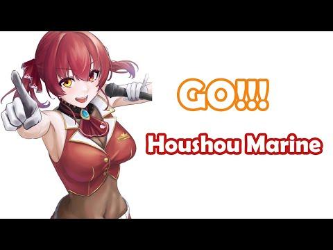 [Houshou Marine] - GO!!! / FLOW